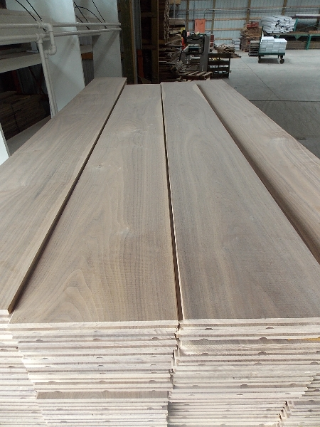 8 inch unfinished Walnut Flooring