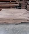 8 inch contrast, unfinished Walnut Flooring